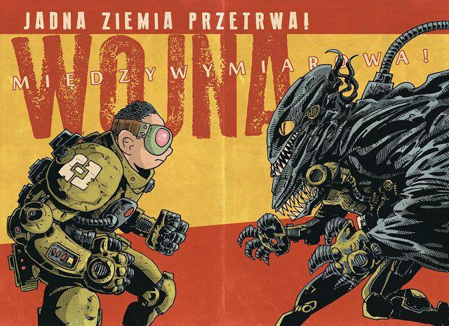 Jakub Kijuc - komiks, ilustracja: Konstrukt: tajemnica ujawniona!