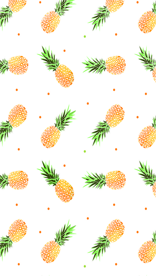 cute pineapple 🍍 wallpaper Backgrounds in 2019 Iphone