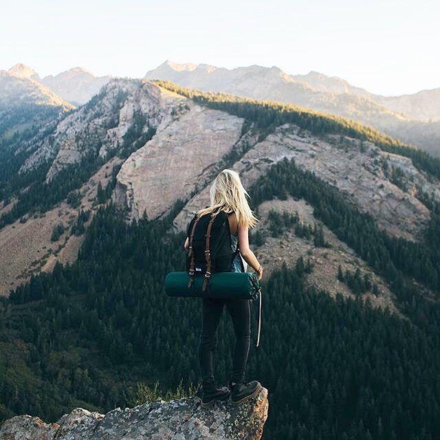 hike. mountain view.
