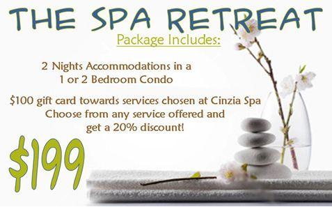 Myrtle Beach Spa Vacation Package Available October-March