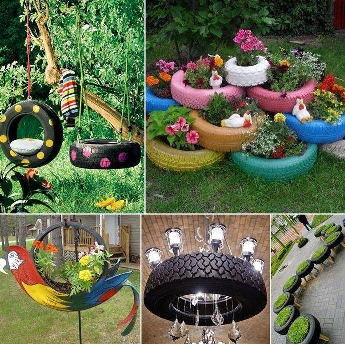 cool recycled tyres amazing ideas tips pinterest