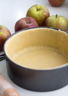 Koekjesdeeg voor appeltaart...