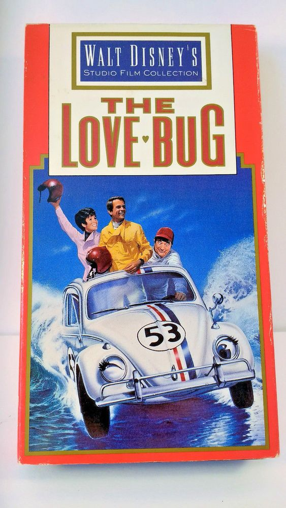 The LOVE BUG Walt DISNEY Classic VHS HI FI COLOR Dean Jones - Buddy Hackett