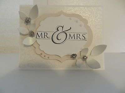 Stampin Up Wedding Card Mr Mrs
