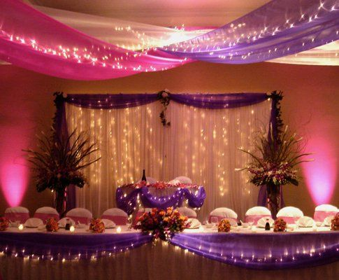 130 best images about wedding reception halls decor on for Banquet hall ceiling designs