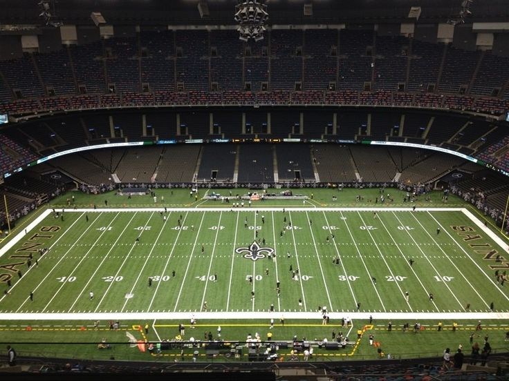 Inside mercedes benz dome photo by wwltvsports new for Mercedes benz new orleans