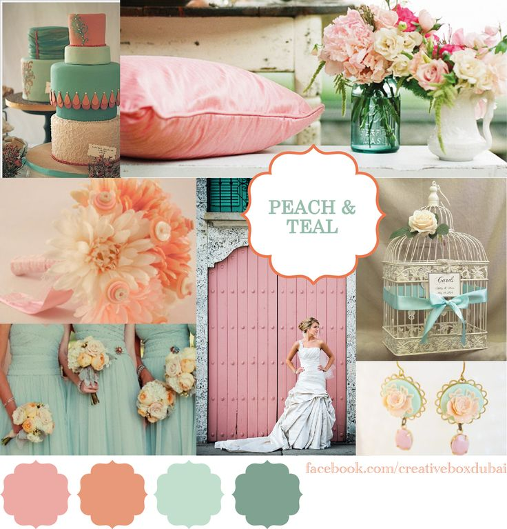 25 Best Ideas About Teal Color Schemes On Pinterest: Best 25+ Teal Peach Wedding Ideas On Pinterest