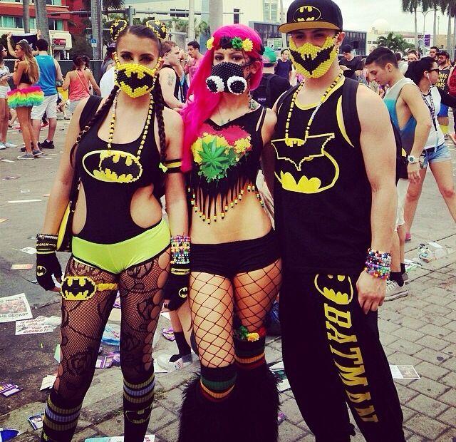 Batman rave outfits