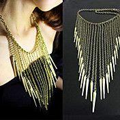 Mujeres remache borlas Collar – CLP $ 3.026
