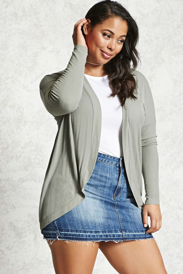 FOREVER 21+ Plus Size Cocoon Cardigan