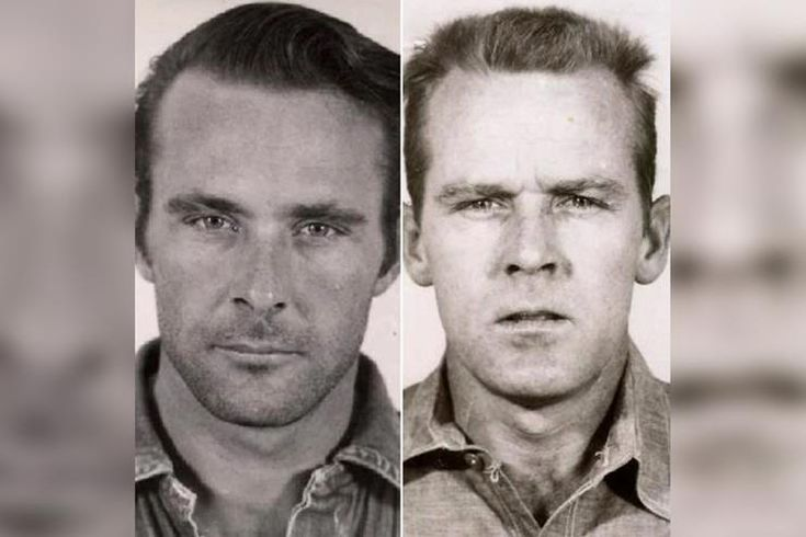 Frank Morris had a couple of brothers for cellmates–Clarence and John Anglin, who began robbing banks in the early 1950s. The pair was eventually arrested and imprisoned in Georgia, but they were later transferred to Alcatraz after repeated failed attempts to escape.