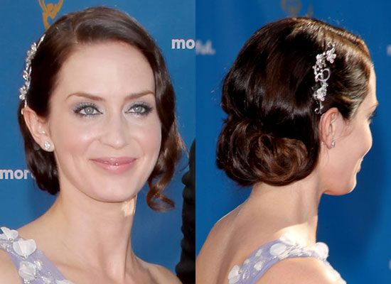 emily bunt up dos | Emily+blunt+hairstyleFemale Celebrity Haircuts | Female Celebrity ...