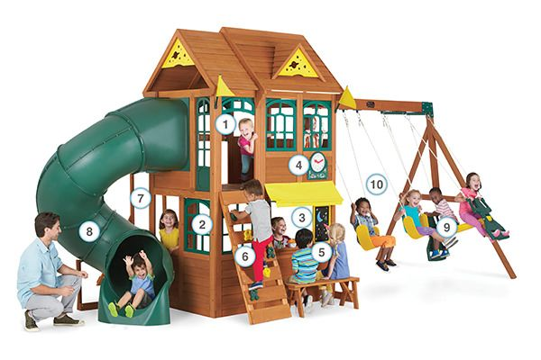Summerlin Retreat - Products | Big Backyard Play Set