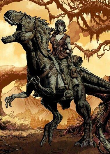 Dino warriors