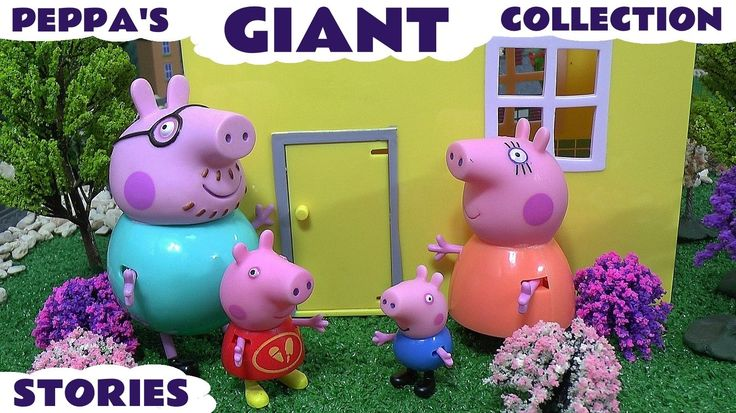 Giant Peppa Pig Story Video Play Doh English Episodes Thomas and Friends...