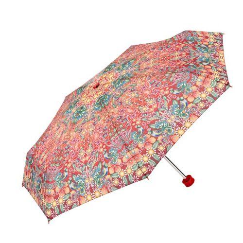 Catalina Estrada Umbrella featuring the most enchanting Peacocks.