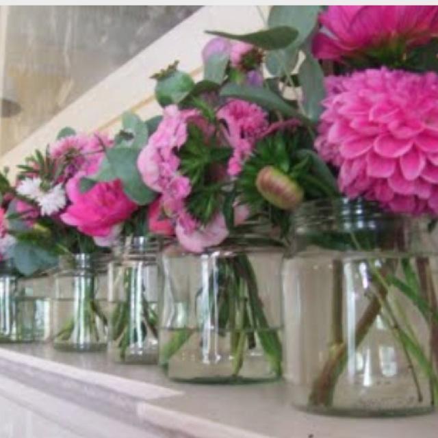 Best 25 Jam Jar Flowers Ideas On Pinterest