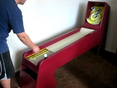 Homemade Skee Ball Game - DIY (www.instructables.com/id/Homemade-Skee-Ball-Game)