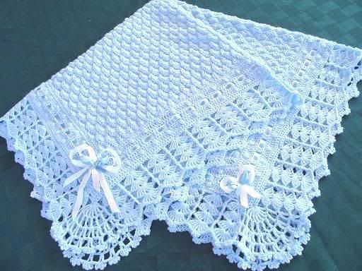 baby blanket crochet patterns | ... .com • View topic - Mother Hen's Search for Crocheted Baby Afghan
