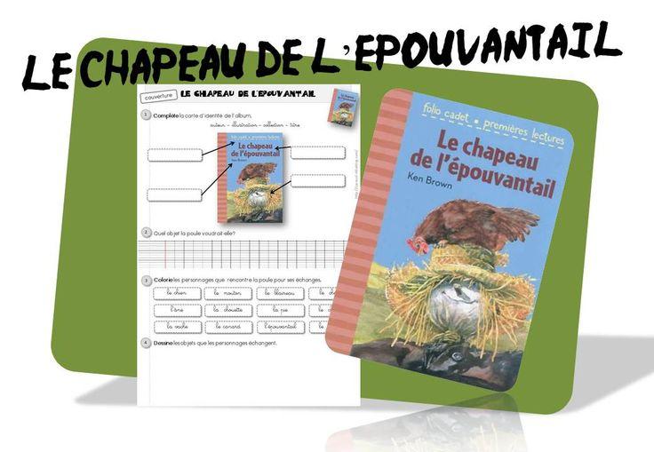 Le chapeau de l 39 pouvantail ce1 jardin albums pinterest for Le jardin voyageur maternelle