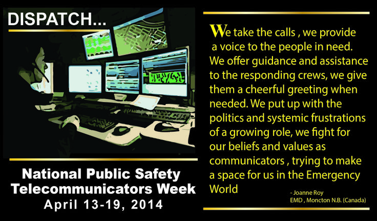 national public safety week Call