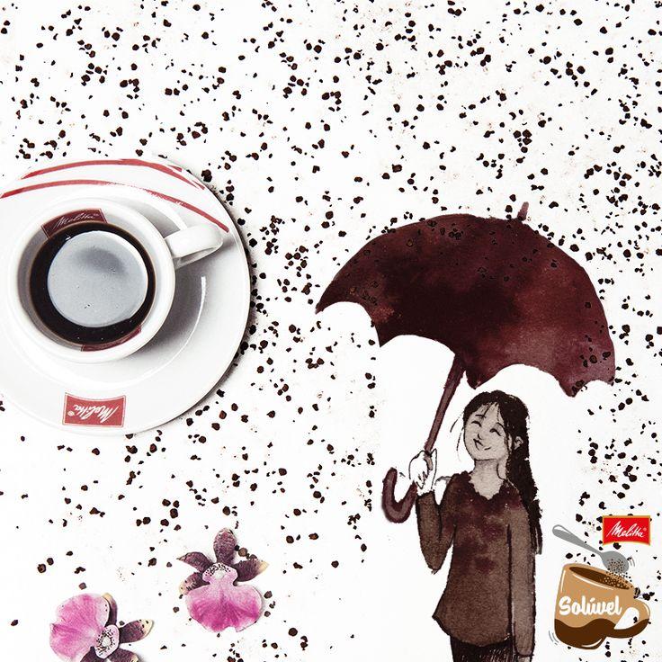 """Tem certos dias que só a praticidade de um Café Solúvel Melitta traz o conforto que queremos. Assim como o Paulo Cruz de Miranda disse: """"para o dia ser bom de verdade, é preciso duas xícaras de Solúvel Melitta!"""". Quem já experimentou?"""