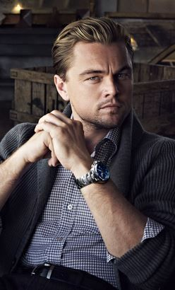 Leonardo DiCaprio for TAG Heuer's New Takes Center Stage Watches campaign, November 2012.