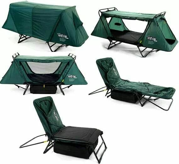 Chair, sun shield, tent. All in one.