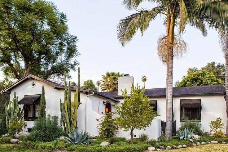 Uma casa ao estilo colonial espanhol