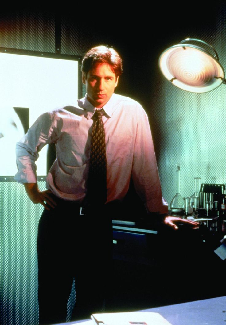 fox mulder. the x files