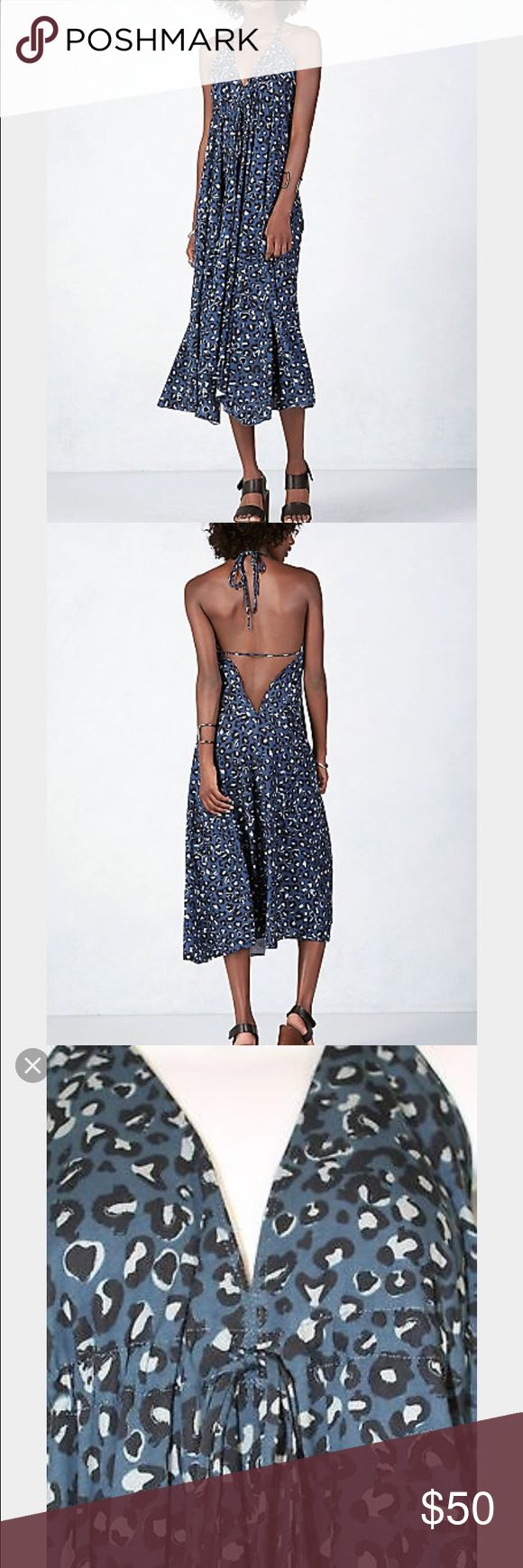 NWT True Religion leopard gypsy dress NWT True Religion leopard gypsy dress True Religion Dresses
