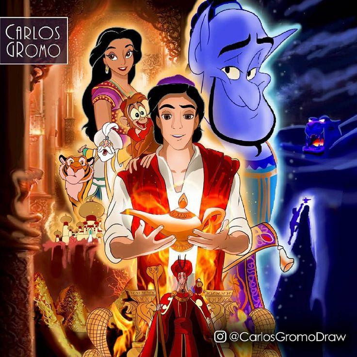 "CARLOS • GROMO on Instagram ""🕌 Aladdin 2019 🕌 . Based on"