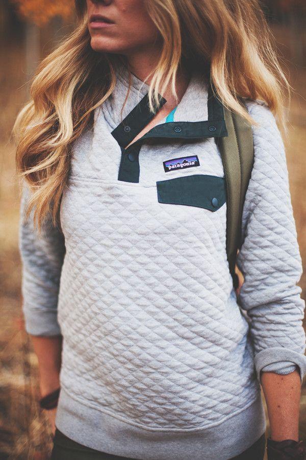 caaec1b9234 Patagonia Organic Cotton Quilt Snap-T Pullover Sweatshirt - Women s ...
