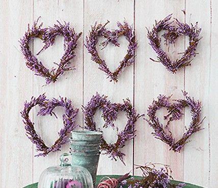 Lavendel  Mooie harten van lavendel #mwpd