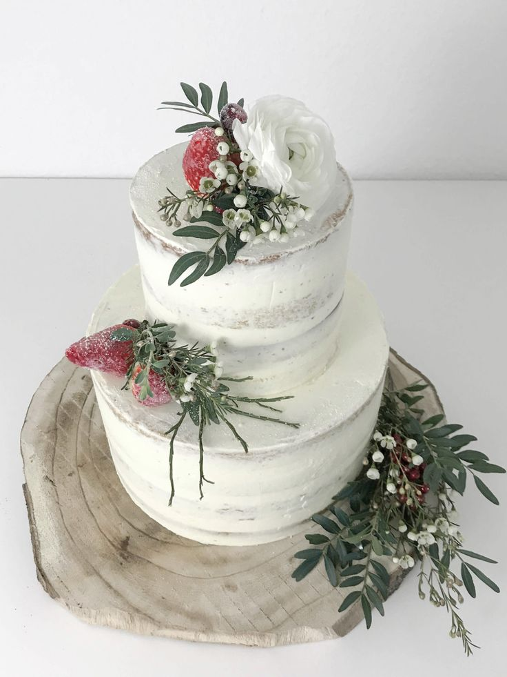Naked Cake Recipe – Simple & Beautiful | elfin white  – Hochzeitstorten
