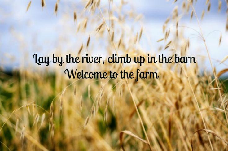 Welcome To The Farm — Luke Bryan