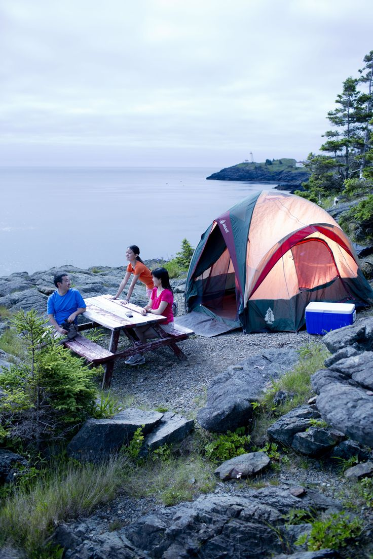 There might be something cooler than camping on a cliff overlooking the Bay of Fundy, drifting to sleep to the sounds of whale calls... but probably not. If you're an outdoor enthusiast, Hole in the Wall Campground is one for the books.