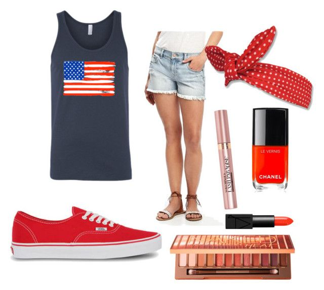 """""""4th ir July"""" by andrea09196 on Polyvore featuring Shore Trendz, Old Navy, Vans, Urban Decay, L'Oréal Paris, Chanel and NARS Cosmetics"""