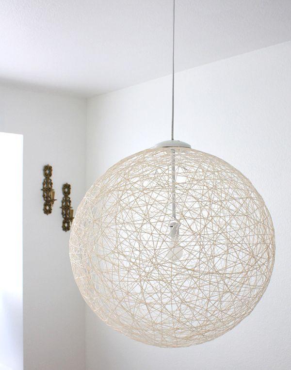 Идеи для света - на каждом шагу: мастерим оригинальные подвесные светильники сами. Часть 1