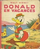 Walt Disney (Les Albums roses)  -5007- Donald en vacances 1950