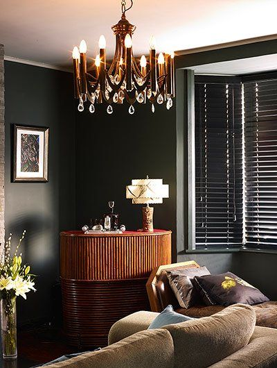 Homes: railway cottage - in pictures  Art Deco BedroomArt ...
