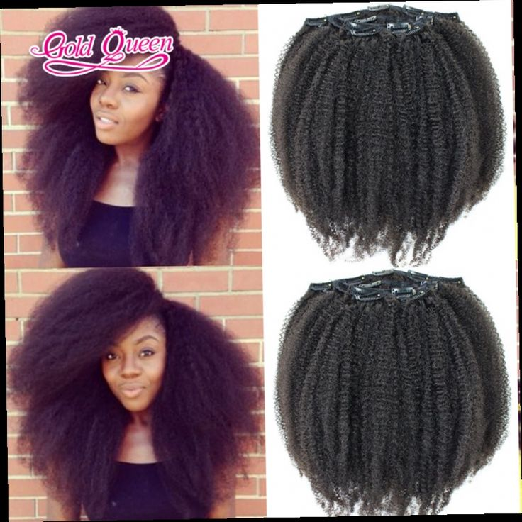9 best clip in human hair extension images on pinterest online shop beautiful afro kinky curly hair virgin brazilian hair clip in black clip in hair extensions real human hair pmusecretfo Choice Image