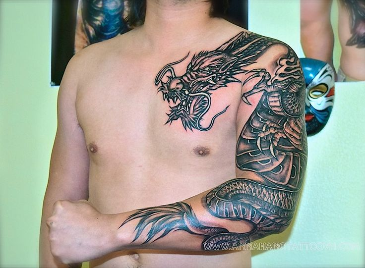 draken tattoo arm - Google zoeken