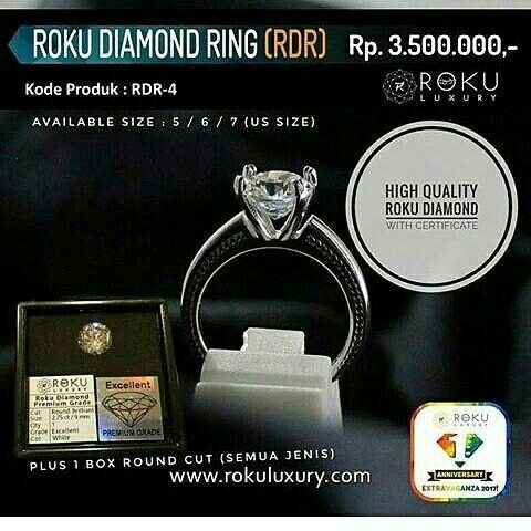 For Jewellery Lover.. Grab Your Roku Diamond & Chance to have your own business 😘😘  WA : 0857-815-61109 LINE : shanny.paulina
