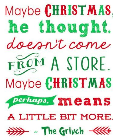 Words of wisdom from The Grinch   #quoteoftheday #mantramondays #merrychristmas #thegrinch #ctalyst #disruptedlogic