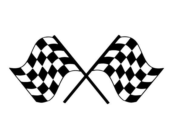 Racing Flag Svg Race Car Flag Svg Checkered Flag Svg