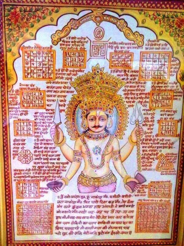 Nakoda Bhairav Maha Mantra Shri Nakoda Bhairav Tantra Art Shri Yantra Mantras Baba vadbhag singh ji hd wallpaper