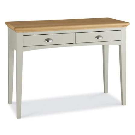 Hampstead Soft Grey & Oak Dressing Table