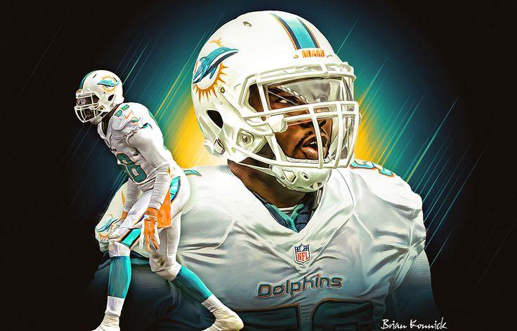 Chris McCain Miami Dolphins on Behance