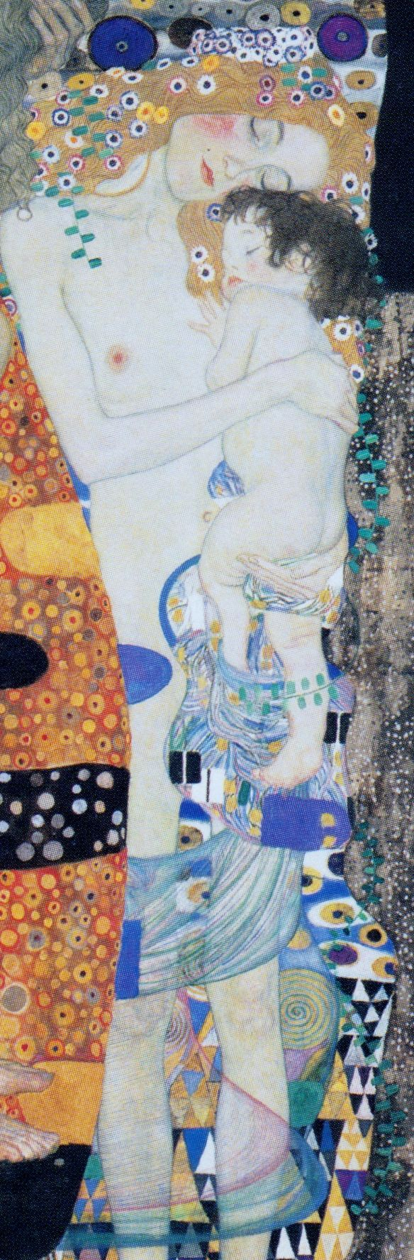Time for my blog is today very scarce. So, I'll limit myself to post the images of some paintings of the Golden phase of Gustav Klimt. Again this time, then, the visual element will speakalm…